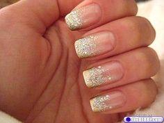 nail art for a wedding | wedding day 10 Wedding day nail art (16 photos)