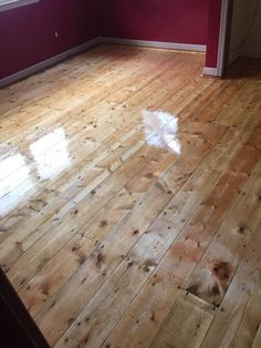 Solid Hardwood, Engineered and Laminate Flooring - Finishing subfloor, or. First one is - below the plywood in my entire house Plywood Flooring Diy, Pine Wood Flooring, Diy Wood Floors, Pine Plywood, Pine Floors, Plank Flooring, Wood Planks, Laminate Flooring, Hardwood Floors