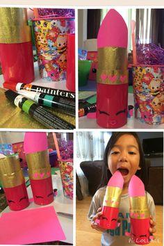 DIY Shopkins popular Lippy Lips for our little girl!