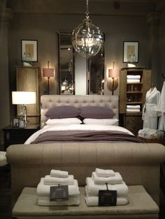 Restoration hardware my favorite furniture store hands down. Not that I can afford anything