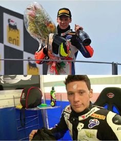 Grand-Prix Motorcyle Racer Lorenzo Savadori Wins Superstock 1000 FIM Cup  While Using LifeWave Patches!!!