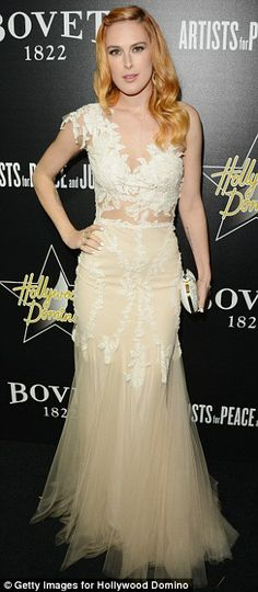 Awards season starlets! Vanessa Hudgens and Rumer Willis attend the 7th Annual Hollywood Domino and Bovet 1822 Gala benefiting artists for p...
