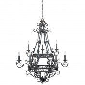 Chandelier #1090-10, Collection Oxford, Style Classique Traditionnelle, 9 ampoules Style Classique, Oxford, Chandelier Lighting, Ceiling Lights, Decoration, Home Decor, Collection, Transitional Chandeliers, Ceiling