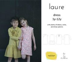 Groovybaby....and mama: Laure Dress by StraightGrain