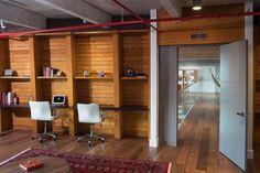 Office of Miami loft renovation.