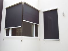 External Wire Guided Automated Blind Uniline Australia
