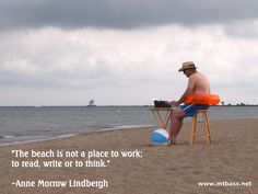 Writers Write -- Anne Morrow Lindbergh // www.mtbass.net