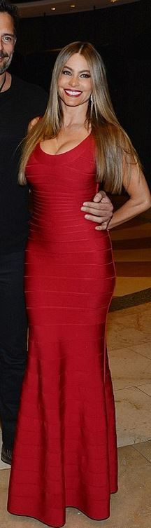 Sofía Vergara in Herve Leger please follow me,thank you i will refollow you later