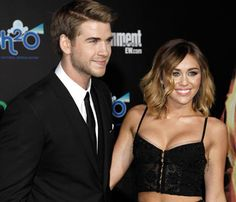 Miley Cyrus, de 19 años, y su novio, Liam Hemsworth, de 22, se han comprometido #people #celebrities #engagement #actors