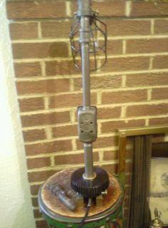Industrial Steampunk Iron Pipe Desk Table Lamp | eBay