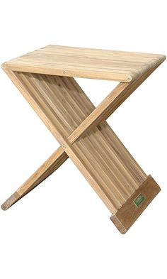 "Anderson Teak TBF-016S Marilla Side Folding Table, 16"" Best Price"