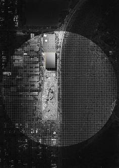 eyeofanarchitect: alexhogrefe: Birds eye view: Site Plan nice photoshopping
