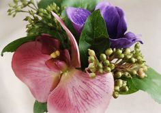 Pink Orchid Corsage