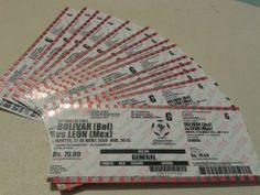 #Internet Usuarios de Facebook revenden las entradas para el partido de fútbol #Bolívar vs. #León