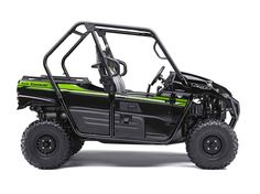 """New 2017 Kawasaki Teryx® ATVs For Sale in Ohio. The sporty Teryx™ takes the combination of sport performance and essential utility to unprecedented levels. 783 cc V-twin engine with strong mid-range power delivery Continuously Variable Transmission (CVT) with confidence-inspiring engine braking performance under certain conditions Durable and light weight """"Double-X"""" frame construction Tilt steering, Electric Power Steering (EPS) and tight 16.7 ft. turning radius Fox® Podium™ piggyback shocks…"""