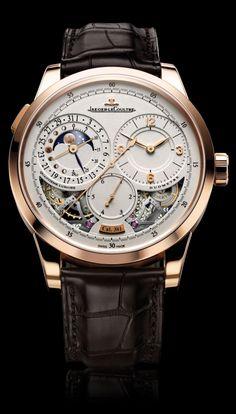 Jaeger-LeCoultre Duometre a Quantieme Lunaire moonphase watch $35,000 _Ʀᗩмᗩ_