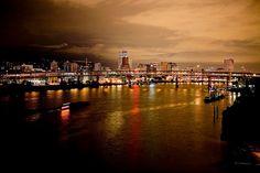 Portland and the Willamette River