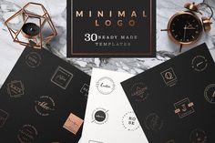 Feminine Logo Templates MINIMAL - Logos - 1