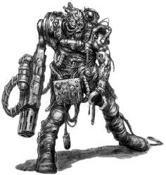 Pit Slaves - Servitor - Necromunda - Warhammer 40K - GW