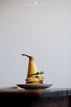 Pomme frite Avec poire et mozzarella