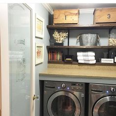 Moving on up my laundry room for Sheana's @smalltowngirllife #moveitupmonday