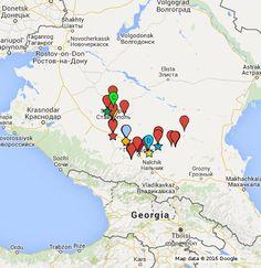 Метка на  коллективной карте Гугл  Неделя детской и юношеской книги