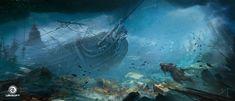 assassinscreedivblackflag_environment_underwater_wreck_by_donglu_yu_additions_02.jpg (1500×646)