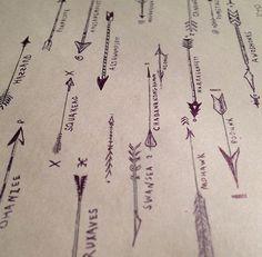 arrows tat inspiration