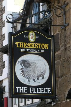 Yorkshire, Pub Signs, Home Signs, British Beer, British Country, Uk Pub, Metal Signage, Storefront Signs, Pubs And Restaurants