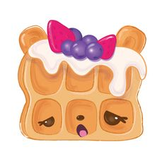 Willy Waffles Character | Num Noms Serie 2!!!!