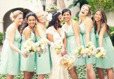 Colores increíbles para boda de día en primavera <3 love it.