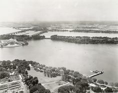 Southwestern View of the District of Columbia from the Washington Monument - A. D. White Architectural Photographs, Cornell University Library