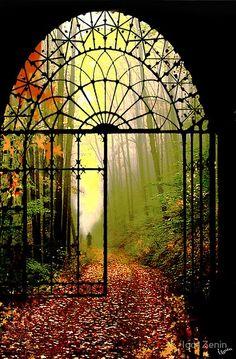 balbuzart:  Gates of autumn • photo: Igor Zenin on Samsays