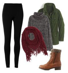 """""""Fall outfit"""" by brenna-mccarty on Polyvore featuring J.Crew, H&M, Max Studio and Charlotte Russe"""