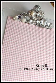 bejeweled clipboard