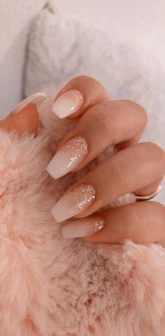 50 Glittering Acrylic Nail Designs for Long and Medium-Length Nails coffin nails, Long nails, nails, nails. Acrylic Nails Coffin Short, Simple Acrylic Nails, Best Acrylic Nails, Acrylic Nails For Spring, Ballerina Acrylic Nails, Acrylic Nail Art, Nagellack Design, Nagellack Trends, Bridesmaids Nails