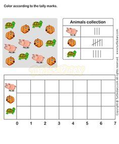 math worksheet : tally chart worksheet 1  math worksheets  grade 1 worksheets  : Harcourt Math Worksheets Grade 1