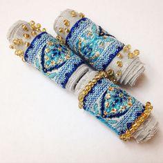 Fabric Beads Jewelry Crafts, Jewelry Art, Beaded Jewelry, Fashion Jewelry, Jewellery, Textile Jewelry, Fabric Jewelry, Handmade Beads, Handcrafted Jewelry