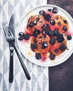 Cutlery set Faro Black. Black Cutlery, Cutlery Set, Acai Bowl, Whole Food Recipes, Breakfast, Pancake, Plant Based, Foods, Light House