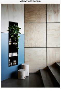 Nice wall detail - add a semi recessed grab rail within