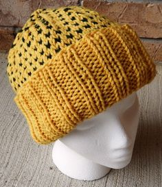 Hand Knit Adult Unisex Winter Hat  Fashion by TheRuthlessCrafter (Scheduled via TrafficWonker.com)