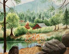"""Long Lake Surprise"" by Carol Schmauder   Flootie.com"
