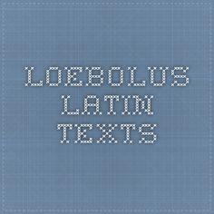 Loebolus - latin texts