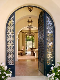 Home Decor 2018 Carmel Valley Residence Moroccan Interiors, Home Interior Design, House Design, House Interior Decor, Door Design, Mission Style Homes, Home, Home Deco, House Exterior