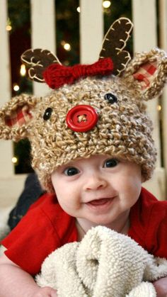 2902f863145 59 Best Christmas Cuties ♡ Santa Babies images