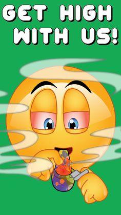 Weed Emojis by Emoji World ™ Free Download - dirtyemojiapps.weed
