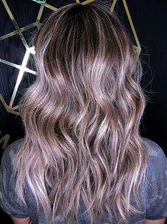 Pastel Lilac Hair, Purple Hair, Red Scene Hair, Natural Hair Styles, Short Hair Styles, Summer Hairstyles, Scene Hairstyles, Long Gray Hair, Green Hair