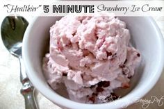 Healthier 5 minute ice cream!