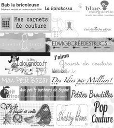 Couture: les meilleurs tutoriels...