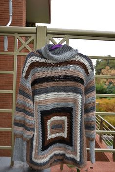 SOLO TEJIDOS: SWEATER LANA CROCHET, SWEATER WOOL CROCHET